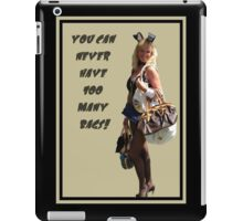 A Woman Your Age Can Never Have Too Many Bags! iPad Case/Skin