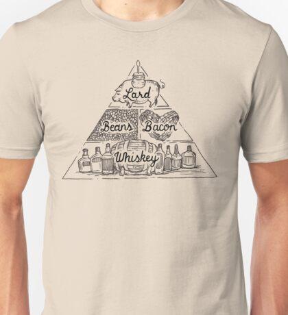 The Four Basic Food Groups Unisex T-Shirt