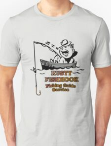 rusty fishhook fishing guide T-Shirt