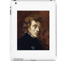EUGENE DELACROIX,  FREDERIC CHOPIN  iPad Case/Skin