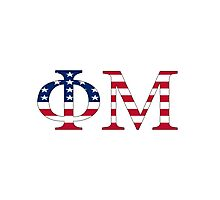Phi Mu - USA Photographic Print