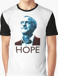 Jeremy Corbyn Hope Graphic T-Shirt