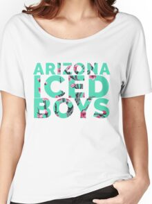 Arizona Green Ice Tea Boys w/ Yung Lean Women's Relaxed Fit T-Shirt