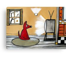 Watch Dog  Canvas Print
