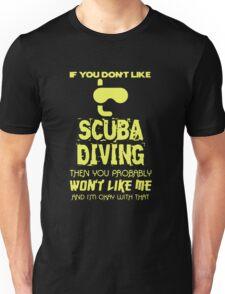 Scuba Diving T-shirt Unisex T-Shirt