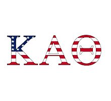 Kappa Alpha Theta - USA Photographic Print