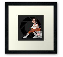 Tenacity Deco Framed Print