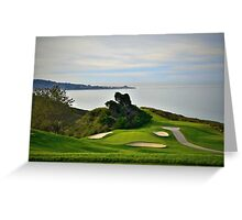 Torrey Pines North Course No. 6 Greeting Card
