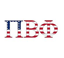 Pi Beta Phi - USA Photographic Print