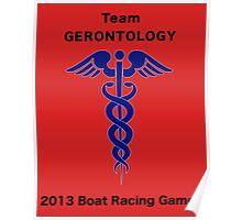 Team Gerontology - Boat Racing Games Poster