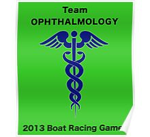 Team Ophthalmology - Boat Racing Games Poster