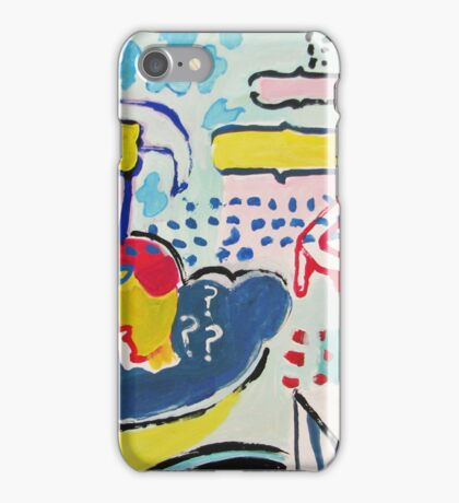 thoughts of flying iPhone Case/Skin