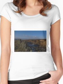 Beyond The Stone Wall Women's Fitted Scoop T-Shirt