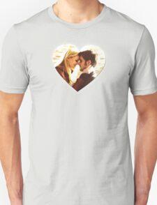 Captain Swan Heart Design 4 Unisex T-Shirt