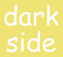 Dark Side (Comic-sans Version) Baby Tee