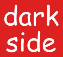 Dark Side (Comic-sans Version) Kids Tee