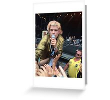 crowd surf Greeting Card