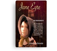 Jane Eyre First Person Narrative Canvas Print