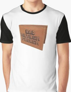 Pulp Fiction Bad Mother Wallet Graphic T-Shirt