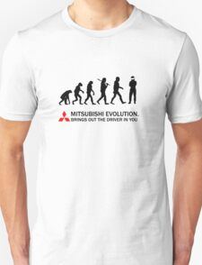 Mitsubishi Evolution Design 3 Unisex T-Shirt