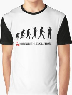 Mitsubishi Evolution Design 2 Graphic T-Shirt