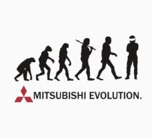 Mitsubishi Evolution Design 2 One Piece - Short Sleeve
