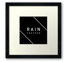 Girls' Generation (SNSD) Taeyeon 'Rain' Framed Print