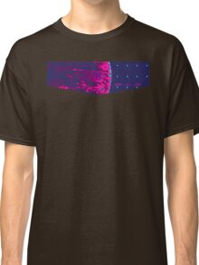 Death Star Targeting Computer Synthwave Classic T-Shirt