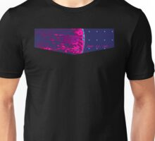 Death Star Targeting Computer Synthwave Unisex T-Shirt
