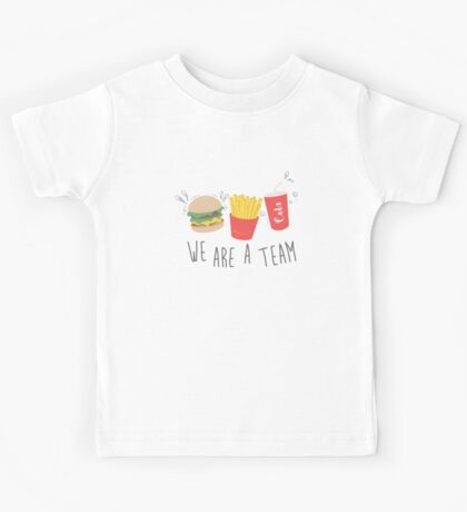 We are A Team Kids Tee