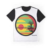 Sunset Swing Swag Graphic T-Shirt