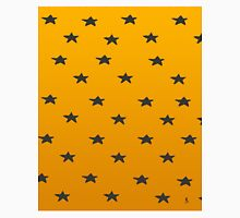 Yellow black stars Unisex T-Shirt