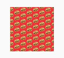 Burger Pattern Red Classic T-Shirt
