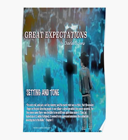 Great Expectations Setting and Tone Poster