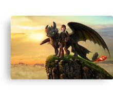 How to Train your Dragon 4 Canvas Print