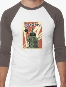 Doctor Who Dalek Men's Baseball ¾ T-Shirt