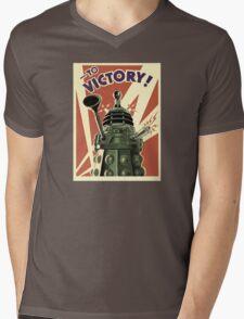 Doctor Who Dalek Mens V-Neck T-Shirt