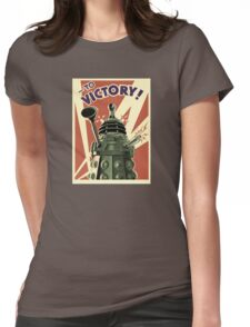 Doctor Who Dalek Womens Fitted T-Shirt