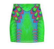 Electric Mantis Shrimp Mini Skirt