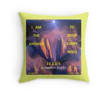 I AM ALL YOU NEED Throw Pillow