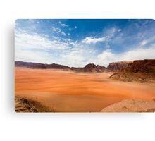Wadi Rum desert, Jordan  Canvas Print