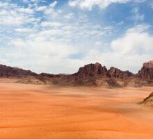 Wadi Rum desert, Jordan  Sticker