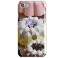 colorful decorated pastries iPhone Case/Skin
