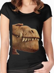 Good Dino 2 Women's Fitted Scoop T-Shirt