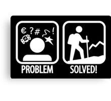 Problem, solved!  Canvas Print