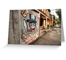 No Surrender at Miller's Point. Greeting Card