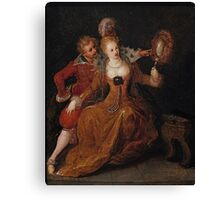 Frans Francken the Younger, Allegory of Sight Canvas Print