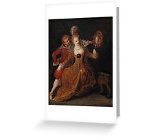 Frans Francken the Younger, Allegory of Sight Greeting Card