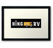 King of the RV!  Framed Print