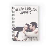 Sterek - Teen Wolf Spiral Notebook